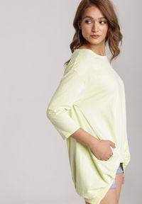 Renee - Żółta Bluza Criameia. Kolor: żółty