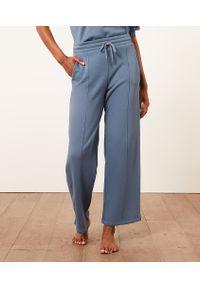 Carmela Pantalon De Pyjama Large - Xs - Niebieski - Etam. Kolor: niebieski