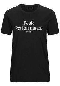 Peak Performance - PEAK PERFORMANCE Koszulka męska Original Black