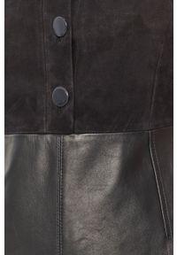 Czarna sukienka Sportmax Code bez rękawów, mini