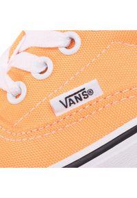 Pomarańczowe półbuty Vans z cholewką