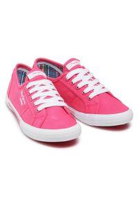 Różowe trampki Pepe Jeans