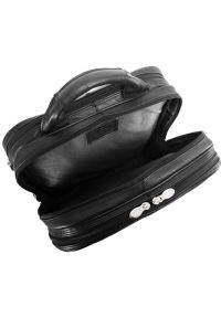 Plecak na laptopa MCKLEIN Wicker Park 15.6 cali Czarny. Kolor: czarny. Materiał: skóra. Styl: biznesowy, elegancki #7