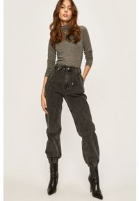 Szare proste jeansy ANSWEAR