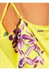 Żółta sukienka letnia Guess