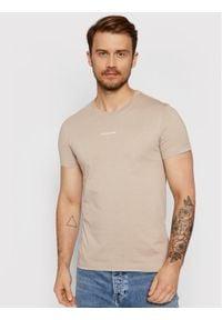 Calvin Klein Jeans T-Shirt J30J318067 Szary Slim Fit. Kolor: szary