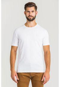 T-shirt EA7 Emporio Armani w kolorowe wzory