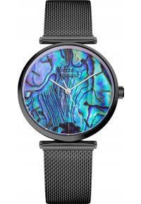 Zegarek Pierre Ricaud Zegarek damski PIERRE RICAUD P22096.B11AQ czarny. Kolor: czarny