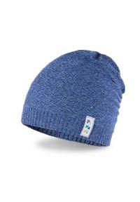 Wiosenna czapka chłopięca PaMaMi - Ciemnoniebieski. Kolor: niebieski. Materiał: bawełna, elastan. Sezon: wiosna
