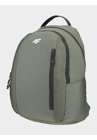 4f - Plecak miejski. Kolor: brązowy, wielokolorowy, oliwkowy. Materiał: materiał