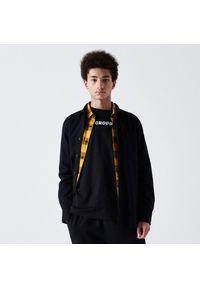 Cropp - Koszulka longsleeve z nadrukiem - Czarny. Kolor: czarny. Długość rękawa: długi rękaw. Wzór: nadruk