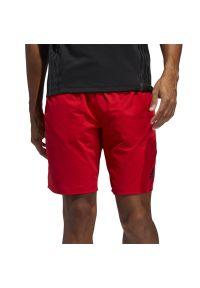 Czerwone spodenki sportowe Adidas ClimaLite (Adidas)
