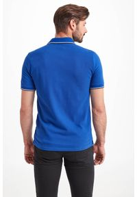 Koszulka polo Armani Exchange sportowa, w kolorowe wzory, polo