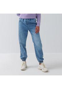 House - Jeansowe joggery - Niebieski. Kolor: niebieski