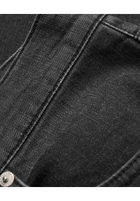 Alexander McQueen - ALEXANDER MCQUEEN - Jeansy typu Slim z logo. Kolor: szary