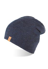 Niebieska czapka BRODRENE na zimę, elegancka