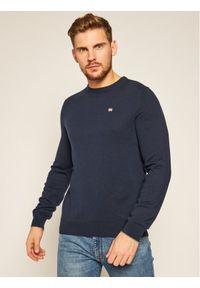 Niebieski sweter klasyczny Napapijri