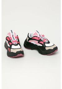 Czarne buty sportowe Tommy Jeans z cholewką, na sznurówki