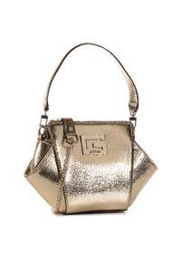 Złota torebka klasyczna Guess klasyczna