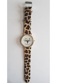 Brązowy zegarek GSM City