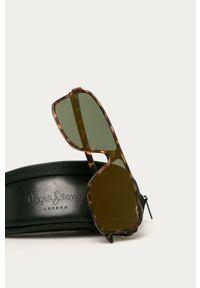 Brązowe okulary przeciwsłoneczne Pepe Jeans