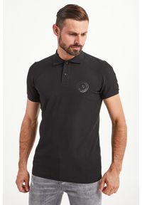Koszulka polo John Richmond Sport polo, sportowa, z nadrukiem
