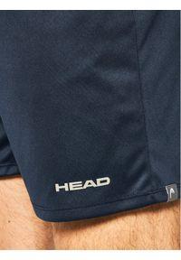 Niebieskie spodenki sportowe Head tenisowe