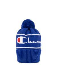 Czapka Champion elegancka, z aplikacjami, na zimę