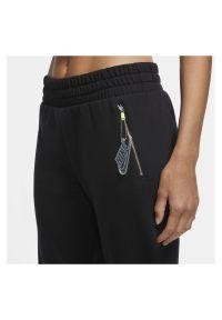 Spodnie damskie Nike Sportswear 7/8 CU5510. Materiał: bawełna, dzianina, materiał, poliester. Sport: turystyka piesza