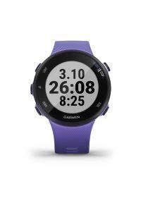 Fioletowy zegarek GARMIN sportowy