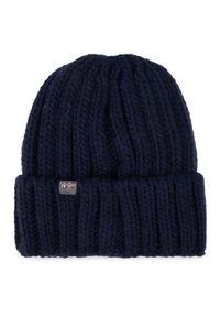 Niebieska czapka zimowa Napapijri marine