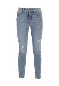 Ralph Lauren - RALPH LAUREN - Jeansy z przetarciem Skinny. Kolor: niebieski