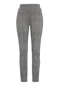 Szare spodnie Cellbes na co dzień, eleganckie, w kratkę