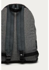 Szary plecak Quiksilver z nadrukiem