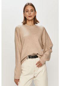 Sweter Vila z długim rękawem, długi, gładki
