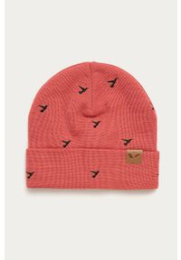 Różowa czapka Viking