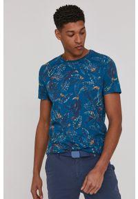 medicine - Medicine - T-shirt Summer Vibes. Kolor: turkusowy. Materiał: bawełna, dzianina