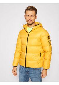 Żółta kurtka zimowa EA7 Emporio Armani