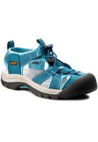 Niebieskie sandały keen sportowe, na spacer