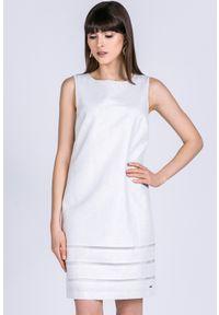 Biała tunika Monnari na ramiączkach, wizytowa