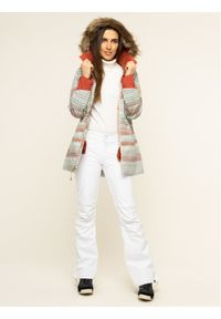 Burton Kurtka snowboardowa Lelah 20541101960 Zielony Slim Fit. Kolor: zielony. Sport: snowboard