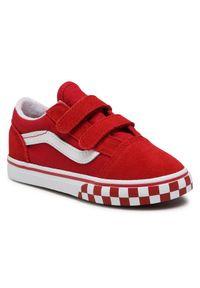Vans Tenisówki Old Skool V VN0A38JN32W1 Czerwony. Kolor: czerwony. Model: Vans Old Skool