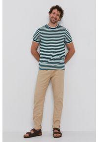 TOMMY HILFIGER - Tommy Hilfiger - T-shirt. Okazja: na co dzień. Kolor: zielony. Materiał: dzianina. Styl: casual