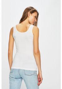 Biały top Gatta casualowy, na co dzień, na ramiączkach