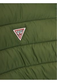 Zielona kurtka puchowa Guess