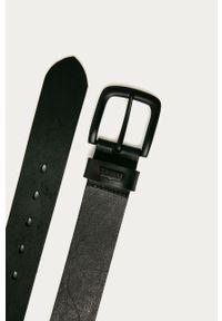 Czarny pasek Levi's® w kolorowe wzory, biznesowy