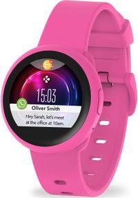 Różowy zegarek MYKRONOZ smartwatch