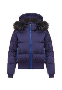 Kurtka narciarska Descente na zimę, Thinsulate, z motywem zwierzęcym