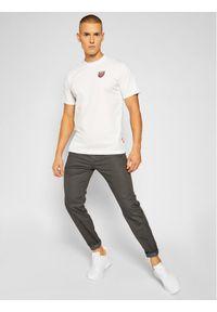 Vans Spodnie materiałowe Authentic VN0A3143 Szary Modern Fit. Kolor: szary. Materiał: materiał