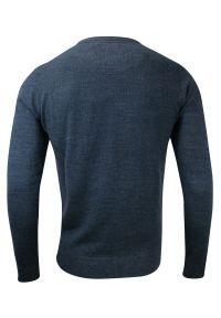 Niebieski sweter Brave Soul biznesowy, na co dzień